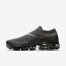 Nike Air VaporMax Flyknit Moc Running Shoes Mens Midnight Fog/Legion Green/Black/Dark Stucco AH3397-013