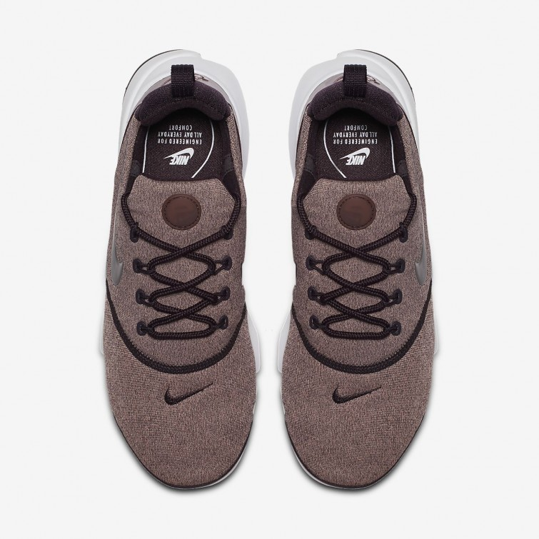 new concept 1bd94 25acf ... Nike Presto Fly SE Lifestyle Shoes Womens Port Wine Particle Pink Black  Metallic ...