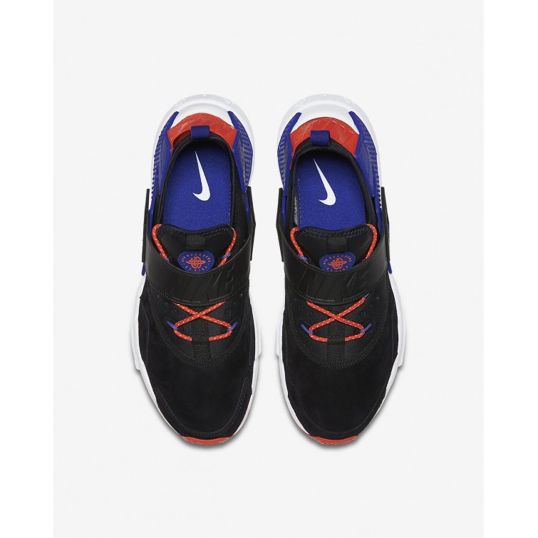 ff9930abb0f4 ... Nike Air Huarache Drift Premium Lifestyle Shoes Mens Black Rush  Orange Lagoon Pulse  ...