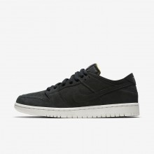 Nike SB Zoom Dunk Low Pro Deconstructed Skateboarding Shoes Mens Black/Summit White/Anthracite AA4275-002