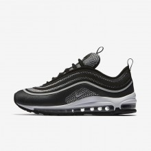 Zapatillas Casual Nike Air Max 97 Ultra 17 Mujer Negras/Blancas/Plateadas 917704-003