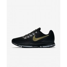 Nike Air Zoom Pegasus 34 Running Shoes Womens Black/Anthracite/White/Metallic Gold Star 880560-017