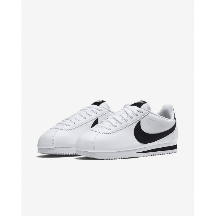 finest selection 4d2ad 7c593 ... Nike Classic Cortez Freizeitschuhe Damen WeißSchwarz 807471-101