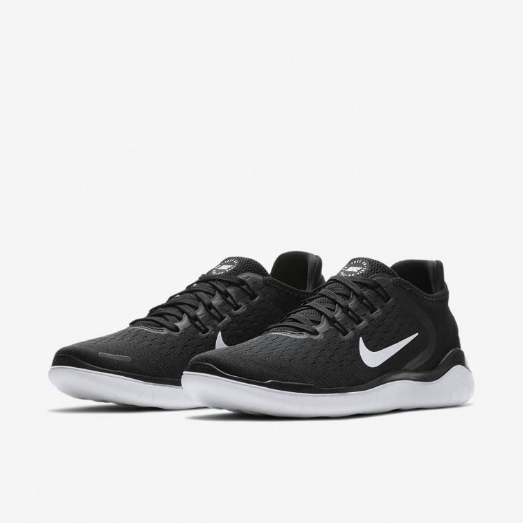 764aa0decab7cb ... Nike Free RN 2018 Laufschuhe Damen Schwarz Weiß 942837-001