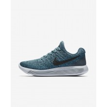 Zapatillas Running Nike LunarEpic Low Flyknit 2 Mujer Oscuro/Negras 863780-303