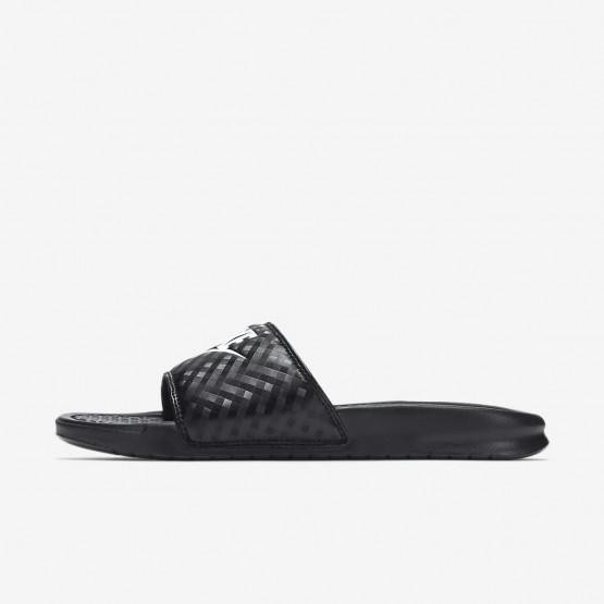 Zapatillas Casual Nike Benassi Mujer Negras/Blancas 343881-011