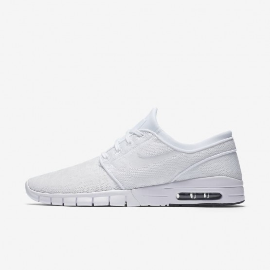 low priced ed703 e7369 Nike SB Stefan Janoski Max Skaterschuhe Herren Weiß Schwarz 631303-114