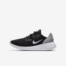 Zapatillas Casual Nike Hakata Niño Negras/Gris/Blancas AO1242-002
