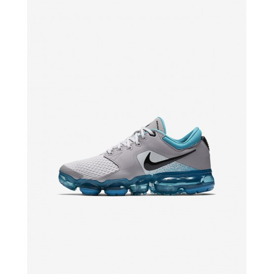 02124a80e857d Nike Air VaporMax Running Shoes Boys Vast Grey Dusty Cactus Atmosphere Grey  Black