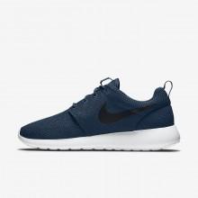 Nike Roshe One Casual Schoenen Heren Donkerblauw/Wit/Zwart 511881-405