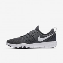 Nike Free TR7 Training Shoes Womens Dark Grey/White 904651-002