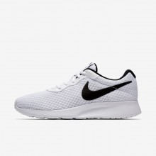 Nike Tanjun Lifestyle Shoes Womens White/Black 812655-100