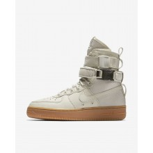 Nike SF Air Force 1 Lifestyle Shoes Womens Light Bone/Gum Medium Brown 857872-004