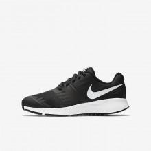 Nike Star Runner Running Shoes Girls Black/Volt/Anthracite/White 907254-001