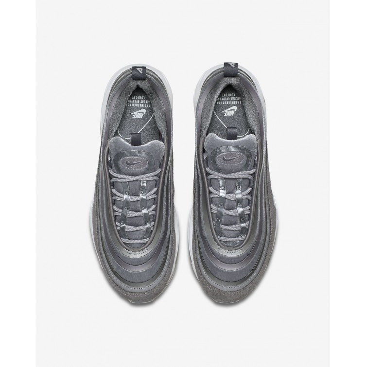 best service 0b328 dac72 ... Nike Air Max 97 Ultra 17 LX Lifestyle Shoes Womens Atmosphere Grey Gunsmoke Summit  ...