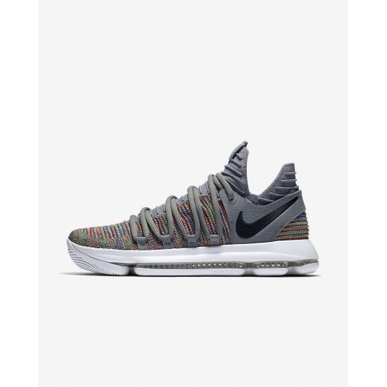 Nike Zoom KDX Basketballschuhe Damen Grau/Weiß/Schwarz 897815-900