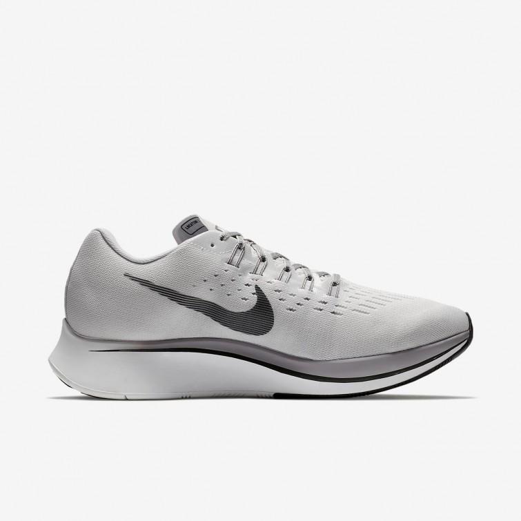 659e34b3e94f ... Nike Zoom Fly Running Shoes Mens Vast Grey Atmosphere Grey Gunsmoke Anthracite  880848 ...