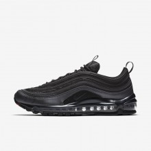 Nike Air Max 97 Lifestyle Shoes Mens Black/Metallic Hematite/Dark Grey/Anthracite 921826-005