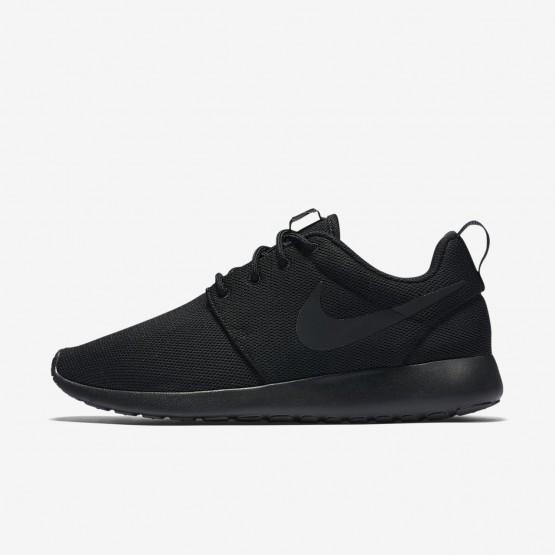 Nike Roshe One Casual Schoenen Dames Zwart/DonkerGrijs 844994-001