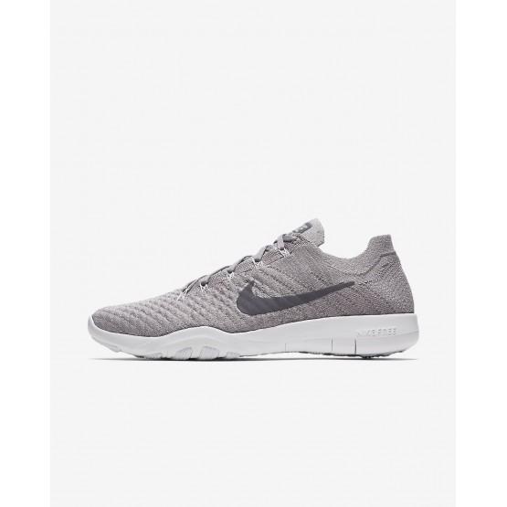 Deportivas Nike Free TR Flyknit 2 Mujer Gris/Blancas 904658-016
