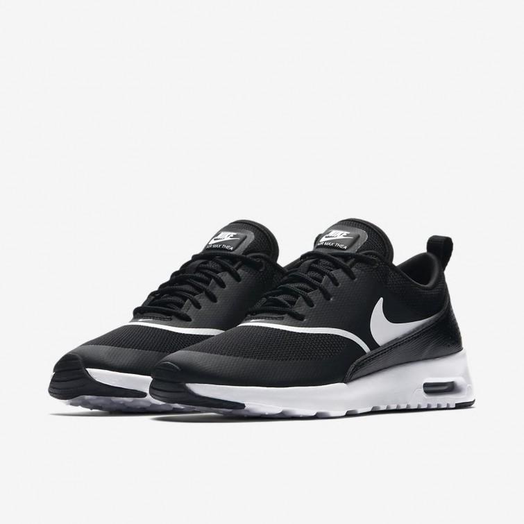 8d2417716e1ca ... Nike Air Max Thea Lifestyle Shoes Womens Black White 599409-028