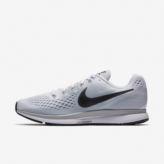 Sapatilhas Running Nike Air Zoom Pegasus 34 Homem Branco/Platina/Cinzentas 880555-103