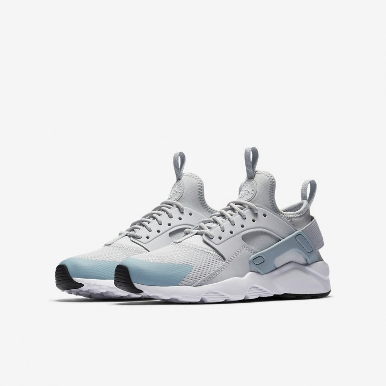 68ed93c10c748 ... Nike Air Huarache Ultra Lifestyle Shoes Boys Pure Platinum White Ocean  Bliss 847568-