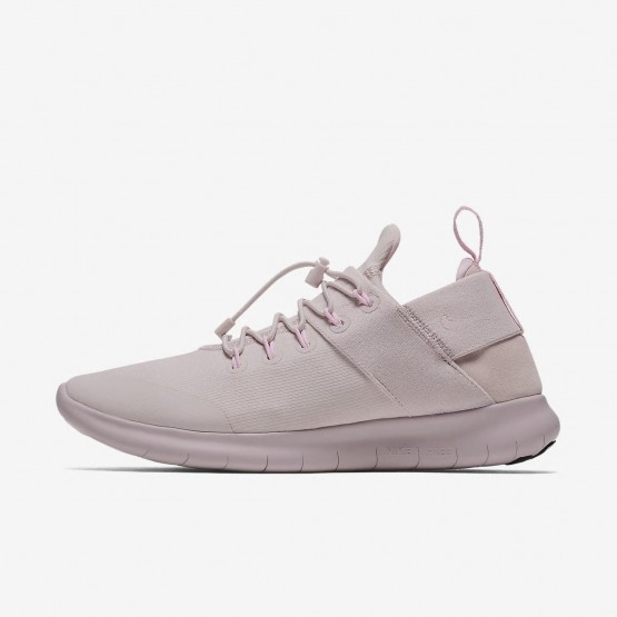 Nike Free RN Commuter 2017 DX Running Shoes Womens Barely Rose/Arctic Pink AH8676-600