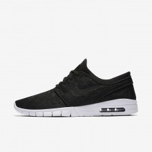 Nike SB Stefan Janoski Max Skateboarding Shoes Mens Black/White 631303-022