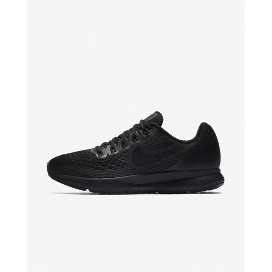 Zapatillas Running Nike Air Zoom Pegasus 34 Mujer Negras/Gris Oscuro 880560-003