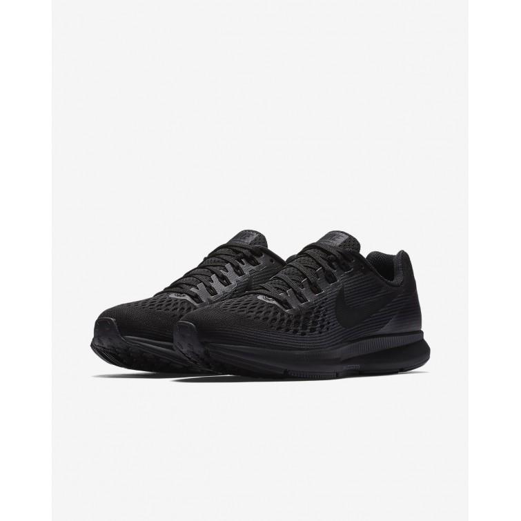 a14bc12fbba9 ... Nike Air Zoom Pegasus 34 Running Shoes Womens Black Anthracite Dark  Grey 880560-