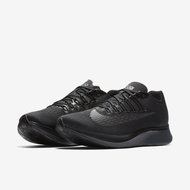 separation shoes 83569 8d587 ... Nike Zoom Fly Running Shoes Womens Black Anthracite 897821-003