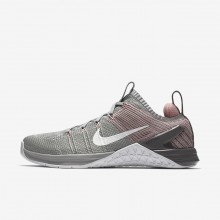 Sapatilhas De Treino Nike Metcon DSX Flyknit 2 Mulher Prateadas/Rosa/Branco 924595-002