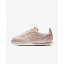 Nike Cortez SE Lifestyle Shoes Womens Particle Beige/Metallic Gold/Particle Pink 902856-202