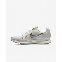 Nike Air Zoom Pegasus 34 Running Shoes Womens Light Bone/Pale Grey/Sail/Chrome 880560-004