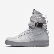 Nike SF Air Force 1 Lifestyle Shoes Womens Vast Grey/Atmosphere Grey 857872-003