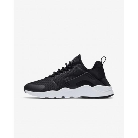 Nike Air Huarache Ultra Lifestyle Shoes Womens Black/White 819151-008