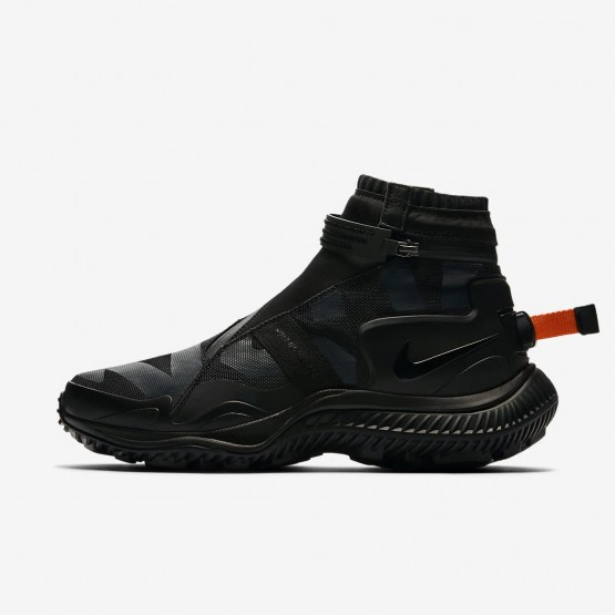 Nike Gaiter Casual Schoenen Heren Zwart/Oranje AA0530-001