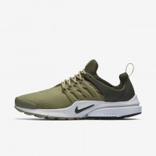 Nike Air Presto Essential Lifestyle Shoes Mens Neutral Olive/Cargo Khaki/Black 848187-201