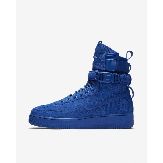 Nike SF Air Force 1 Lifestyle Shoes Mens Game Royal 864024-401