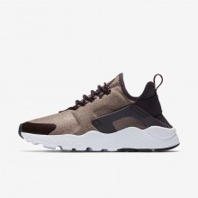 Nike Air Huarache Ultra SE Lifestyle Shoes Womens Port Wine/Metallic Mahogany/Particle Pink 859516-602