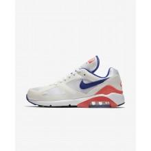 Zapatillas Casual Nike Air Max 180 Hombre Blancas/Rojas 615287-100
