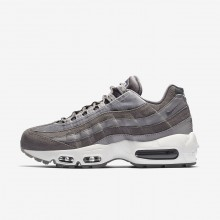Nike Air Max 95 LX Lifestyle Shoes Womens Gunsmoke/Atmosphere Grey/Summit White AA1103-003