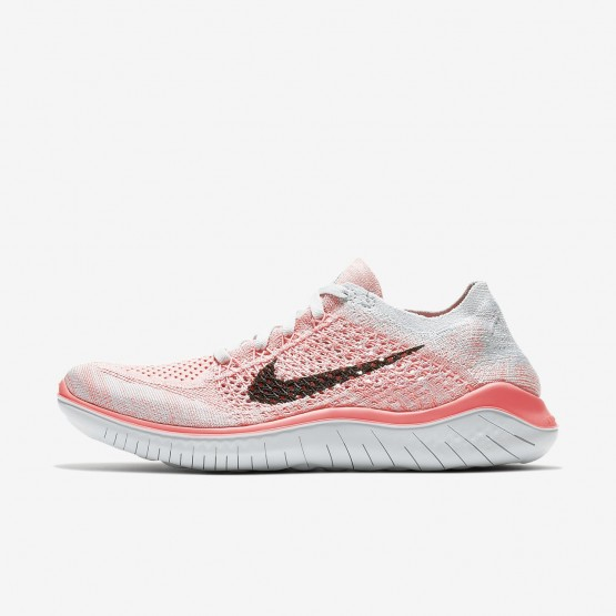 Nike Free RN Flyknit 2018 Running Shoes Womens Crimson Pulse/Pure Platinum/Palest Purple/Black 942839-800
