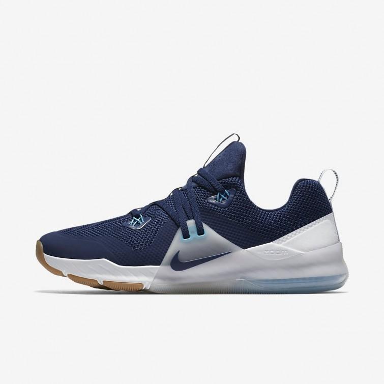 716bd5edb1f7ae Nike Zoom Train Command Training Shoes Mens Binary Blue Pure Platinum White  922478-