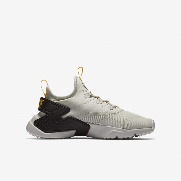 9e6ef007a1102 ... Nike Huarache Run Drift Lifestyle Shoes Boys Light Bone Velvet  Brown Vivid Sulfur 943344 ...