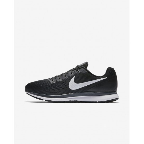 Nike Air Zoom Pegasus 34 Running Shoes Mens Black/Dark Grey/Anthracite/White 880555-001