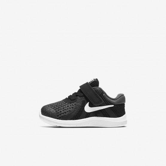 Nike Revolution 4 Running Shoes Girls Black/Anthracite/White 943304-006