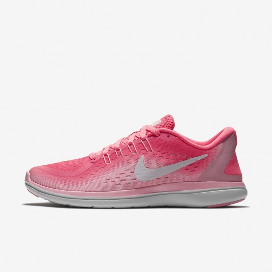 Nike Flex 2017 RN Running Shoes Womens Sunset Pulse/Arctic Punch/White 898476-601
