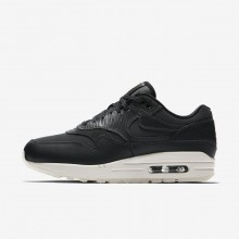 Nike Air Max 1 Premium Lifestyle Shoes Womens Anthracite/Black/Summit White 454746-016